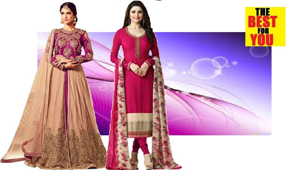 f506a3d512 TOP indian suits for women salwars kameez suits in amazon shopping online  dresses