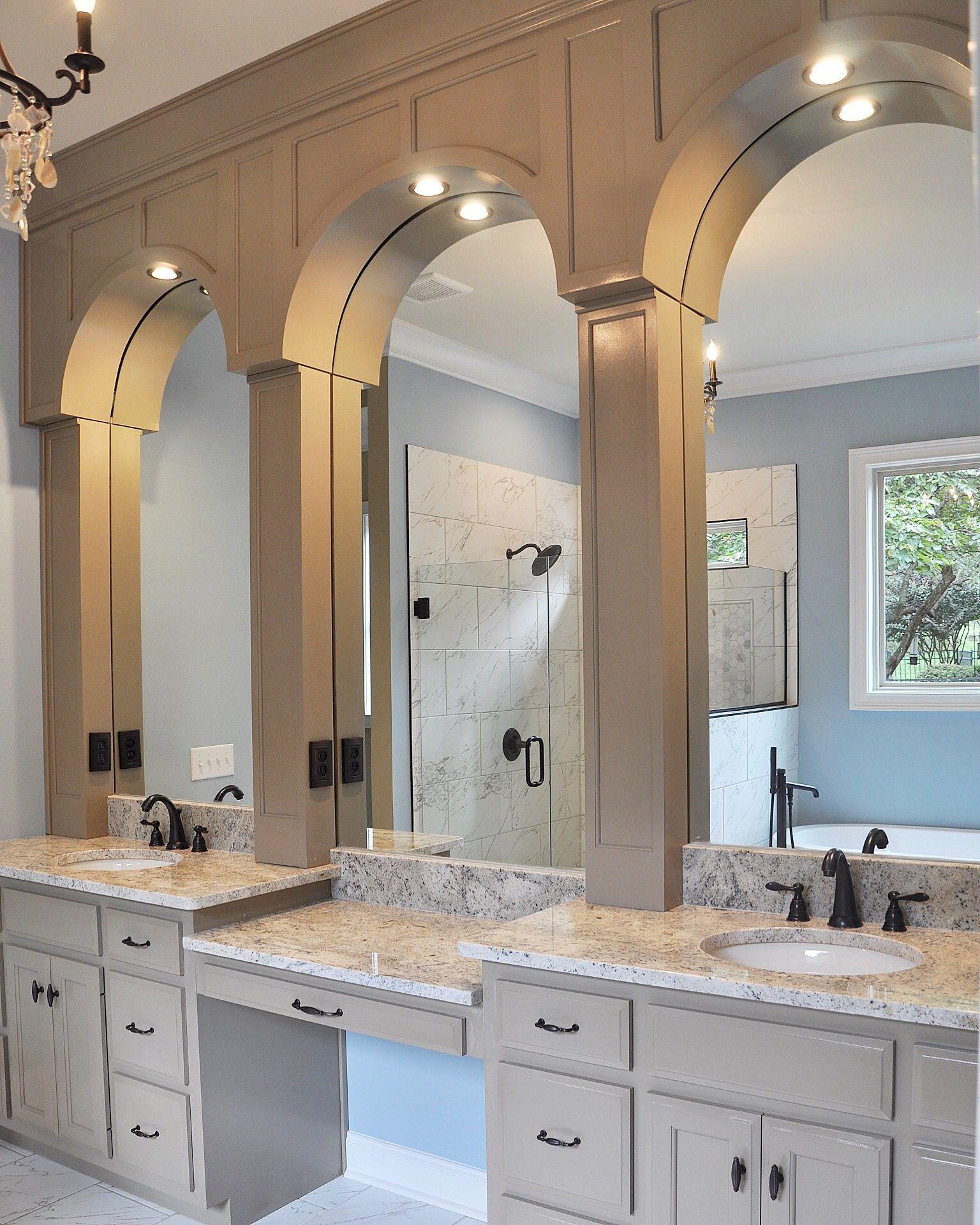 Master Bath Cabinets And Granite Countertops Bath Cabinets Countertops Granite Countertops