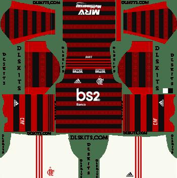 Adidas Flamengo Kits 2019 2020 Dream League Soccer Kits In 2020 Soccer Kits Soccer Soccer Logo
