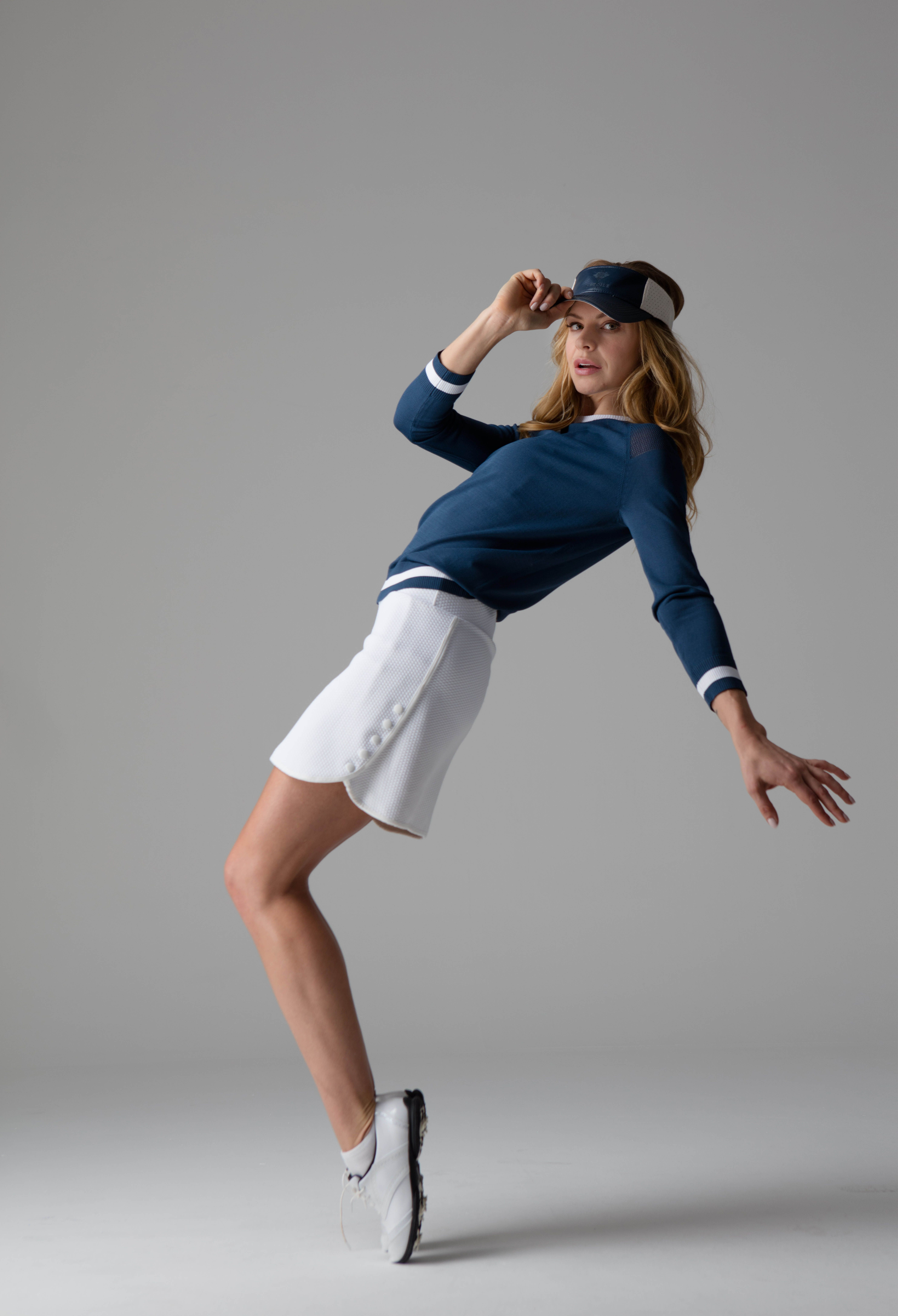 Pin By L Etoile Sport On Fall 17 Collection Golf Outfit Golf Fashion Womens Golf Fashion