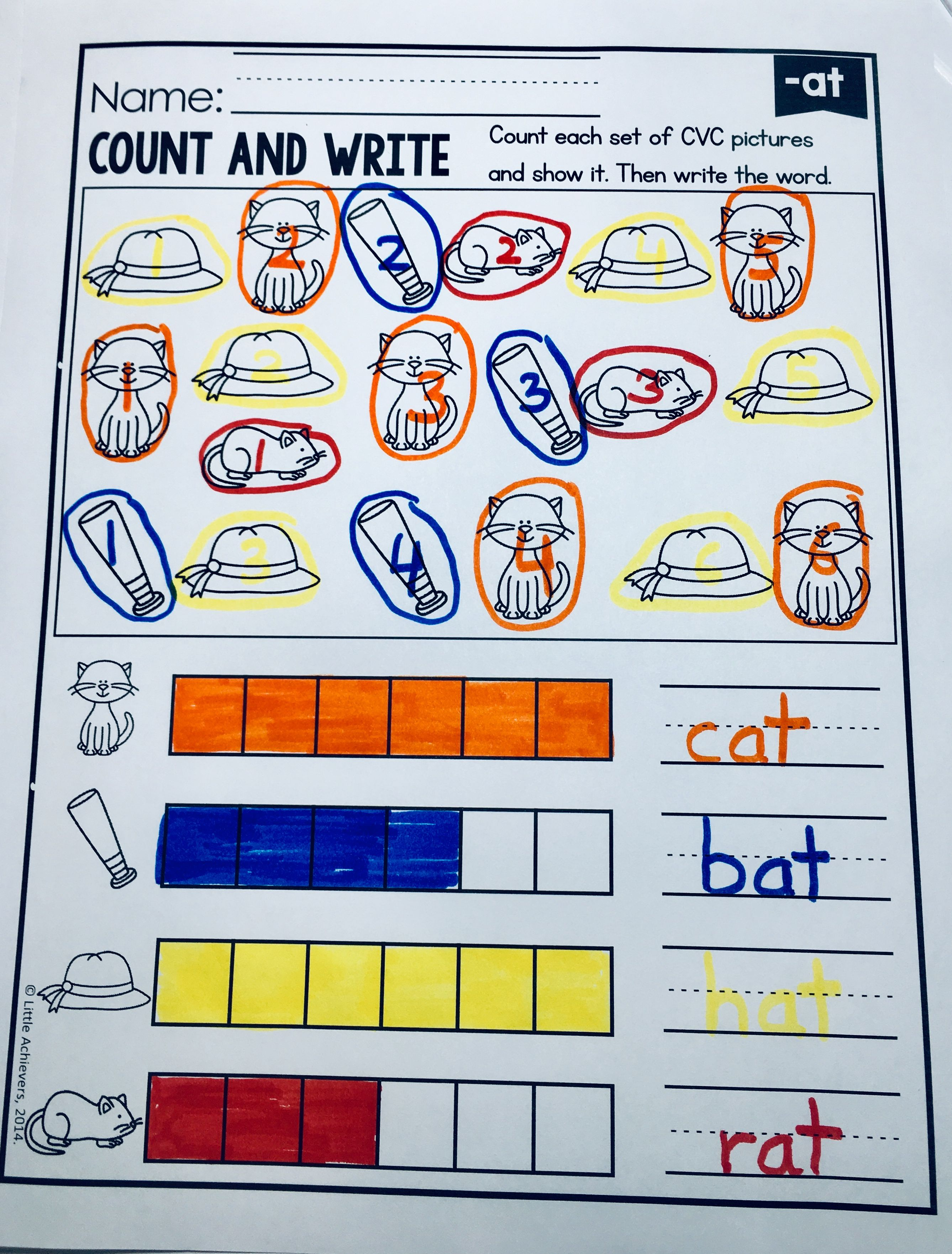 Cvc Words Worksheets And Activities Freebie