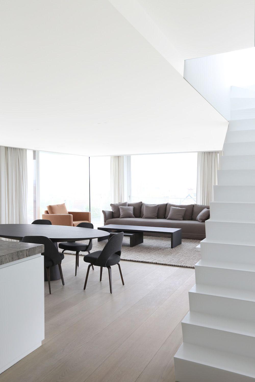 Triplex   in oostduinkerke belgium by rietveld projects interior govaert vanhoutte also rh pinterest