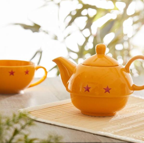 Dragon Ball Super Stackable Teapot Cup Set Anime Decor Dragon