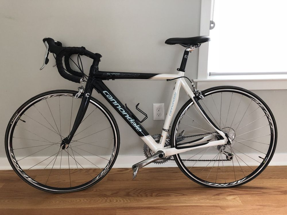2008 Cannondale Synapse 6 Carbon Women S Road Bicycle Bike Size 53 Shimano Bicycle Bike Road Bicycle Bikes Road Bicycle