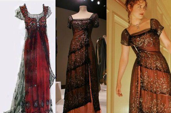 El vestido de Rose DeWitt de Titanic a subasta | vestidos noche ...