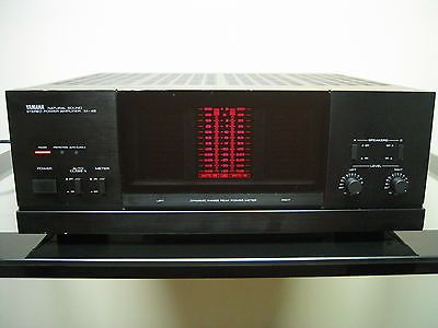 yamaha m 45 stereo power amplifier audiophile class a amp tested black warranty ebay hifi. Black Bedroom Furniture Sets. Home Design Ideas