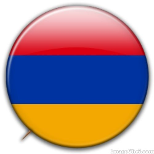 Armenia flag badge