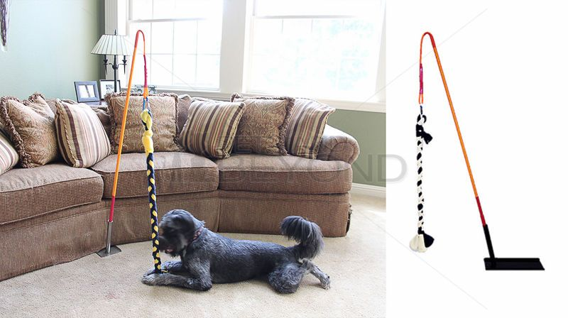Tether Tug Indoor Interactive Dog Tugging Pulling Activity Toy