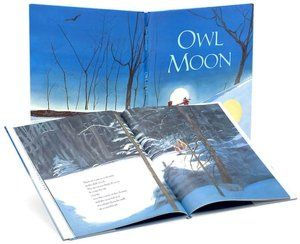 Owl Moon: One of our favorite bedtime stories on a cold, winter night. Beautiful.