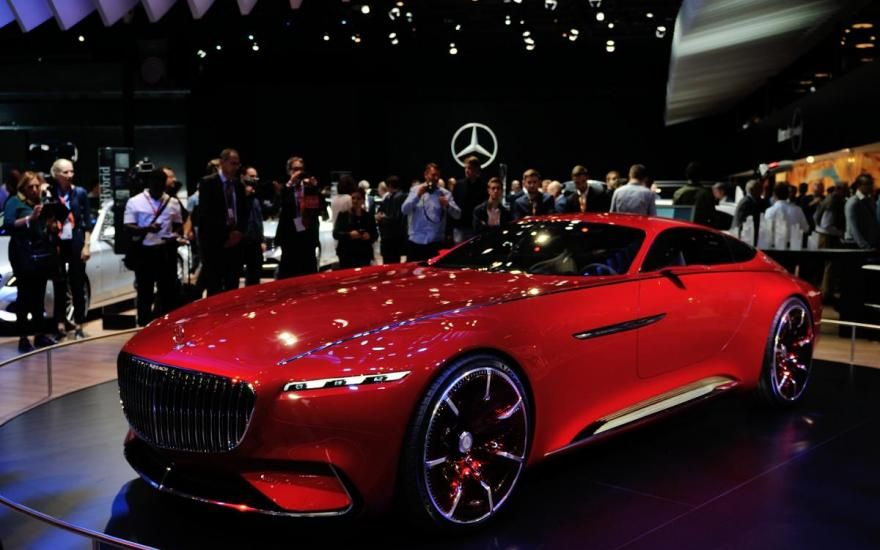 Vision Mercedes-Maybach 6: Almost 6 meters coupe with 750 hp