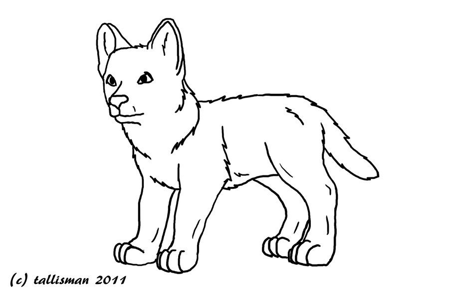 Wolf Pups Coloring Pages Animal Coloring Pages Animal Coloring
