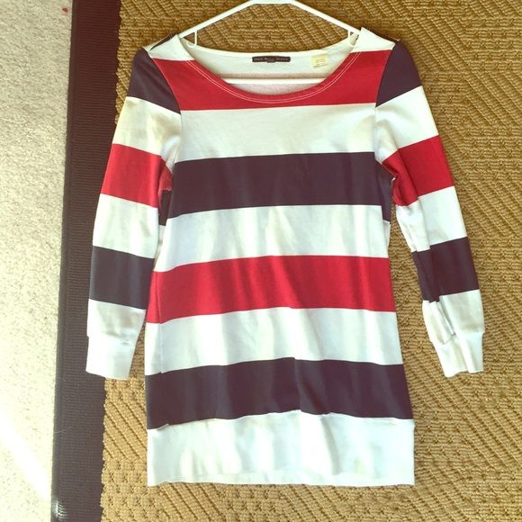 Urban Outfitters Americana Pullover Top truly madly deeply Urban Outfitters Tops Sweatshirts & Hoodies