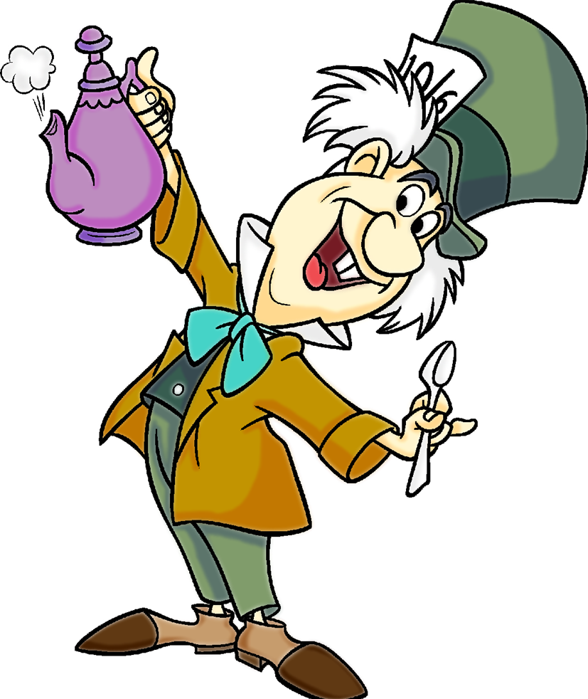 mad hatter tea party clip art - photo #33