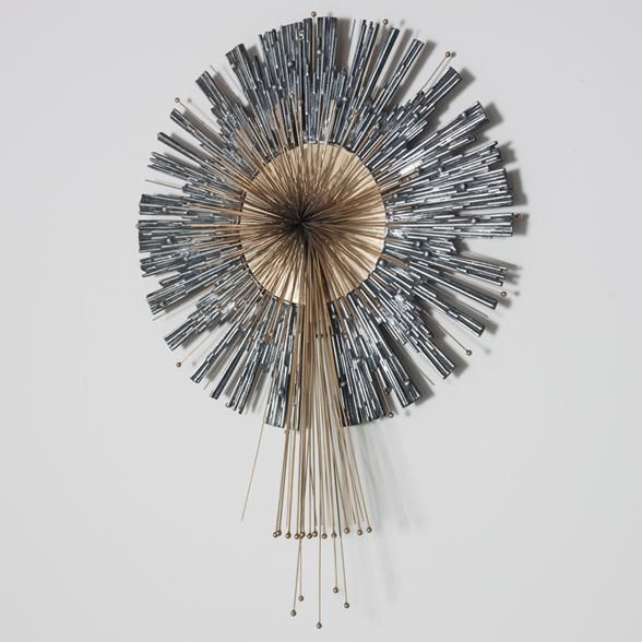 A Rare Aluminium and Brass Curtis Jere Wall Sculpture | Art ...