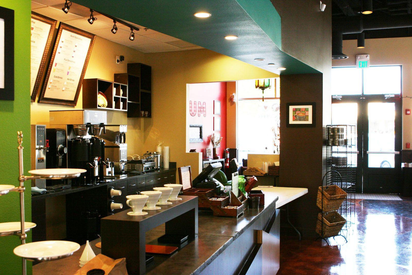 Counter Setup Wall Colors Flooring Option Twin Basket Rack Menu Frame Boards Coffee Shop Design Coffee Shops Interior Cafe Design