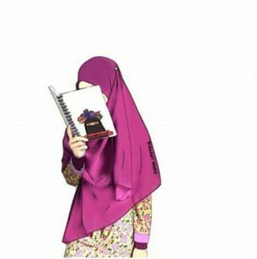Koleksi Gambar Foto Animasi Muslimah Bercadar Terbaru 2018 Sapawarga