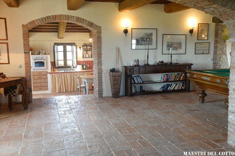Pavimento rustico terracotta flooring nel 2019 rústico