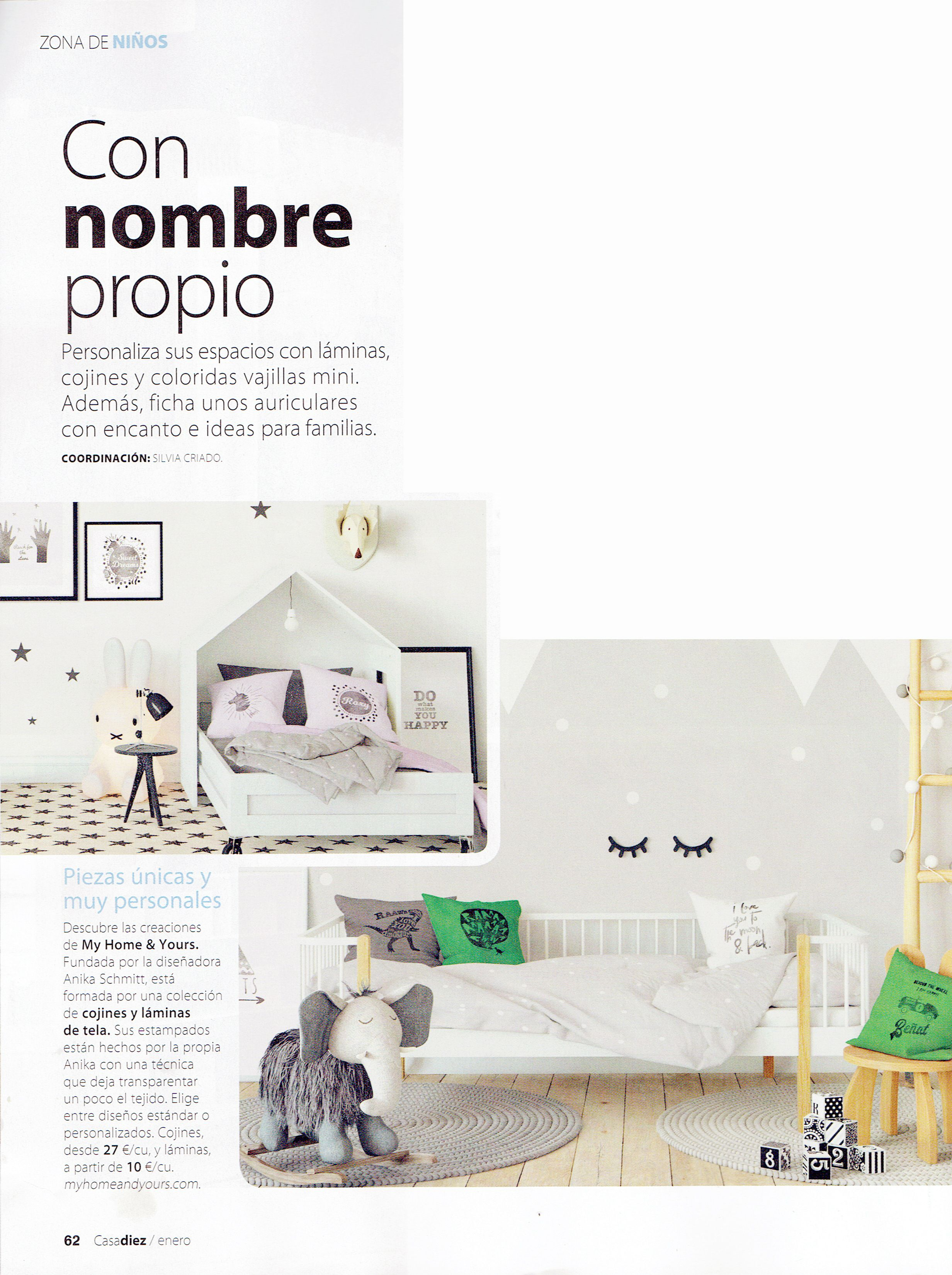 Casa Diez writes about My Home and Yours