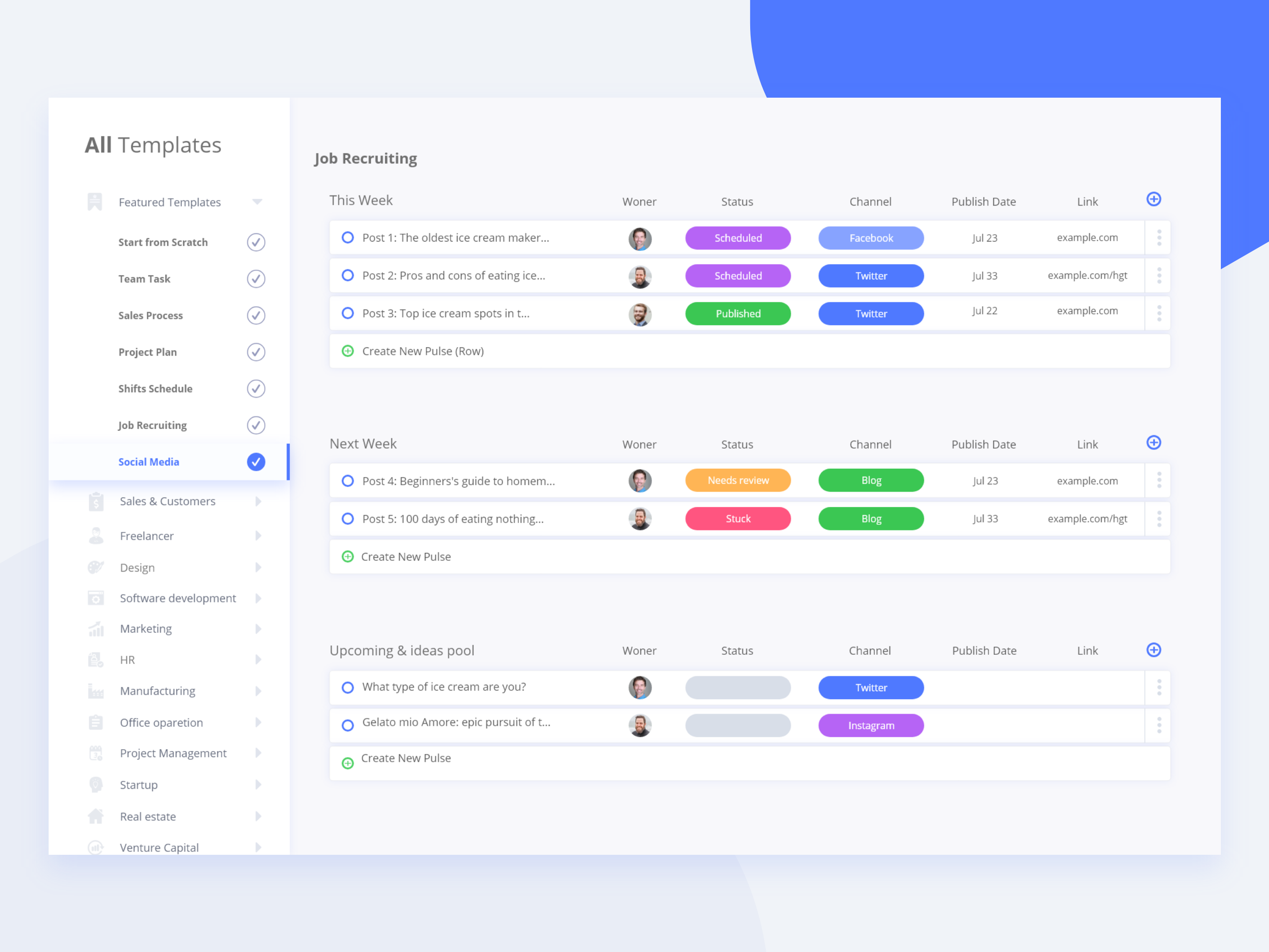Taskdone Project management Services Dashboard Concept | UX