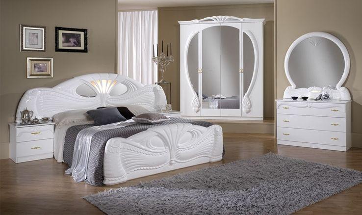 dormitor italian : Zafiro este disponibil in varianta cu dulap in 4 ...