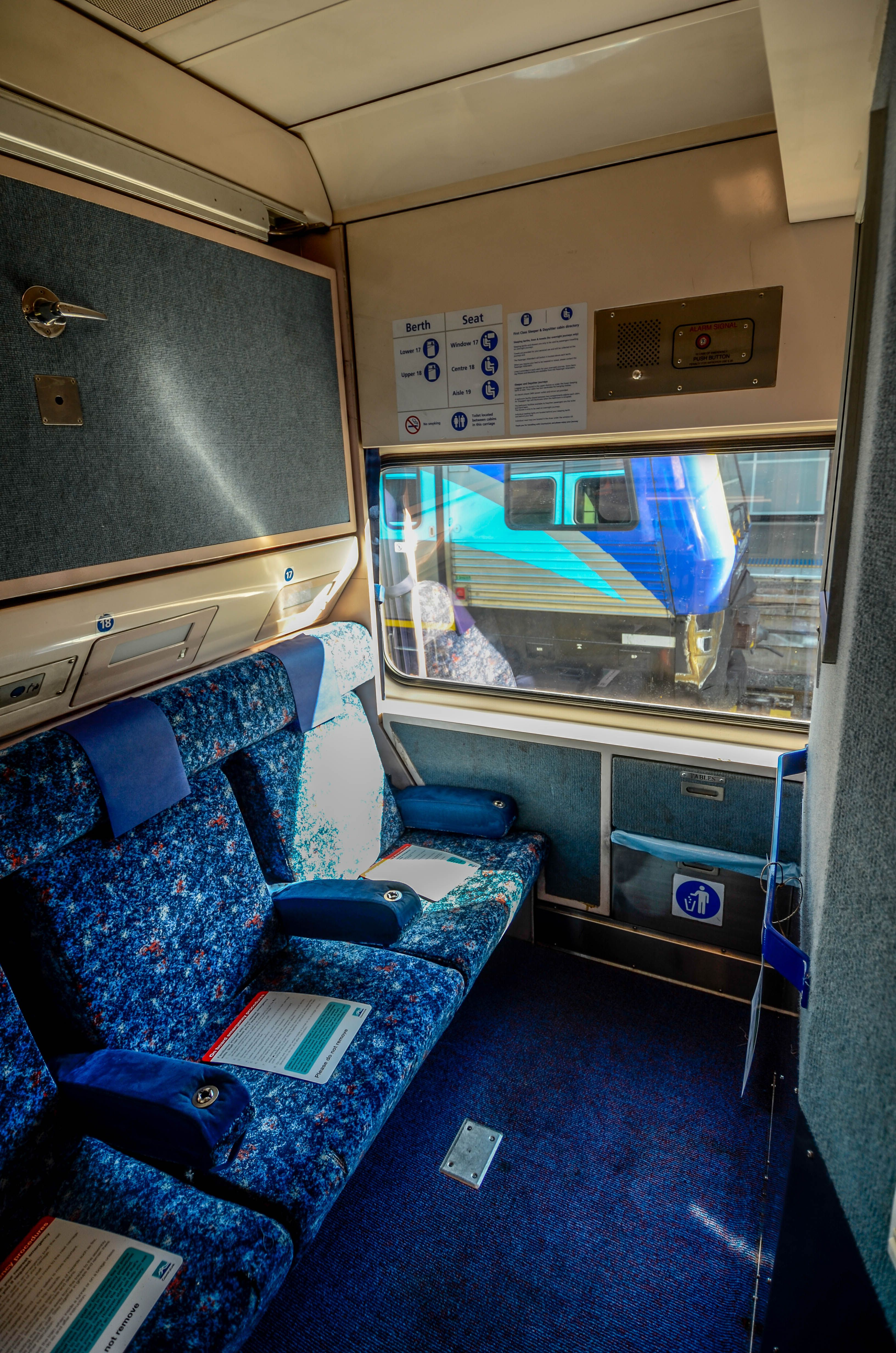 Trains Grafton To Sydney Nsw Trainlink Xpt Daysitter Cabin