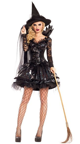 58742e5181c Midnight Black Witch Costume   New Arrivals   Witch costumes ...