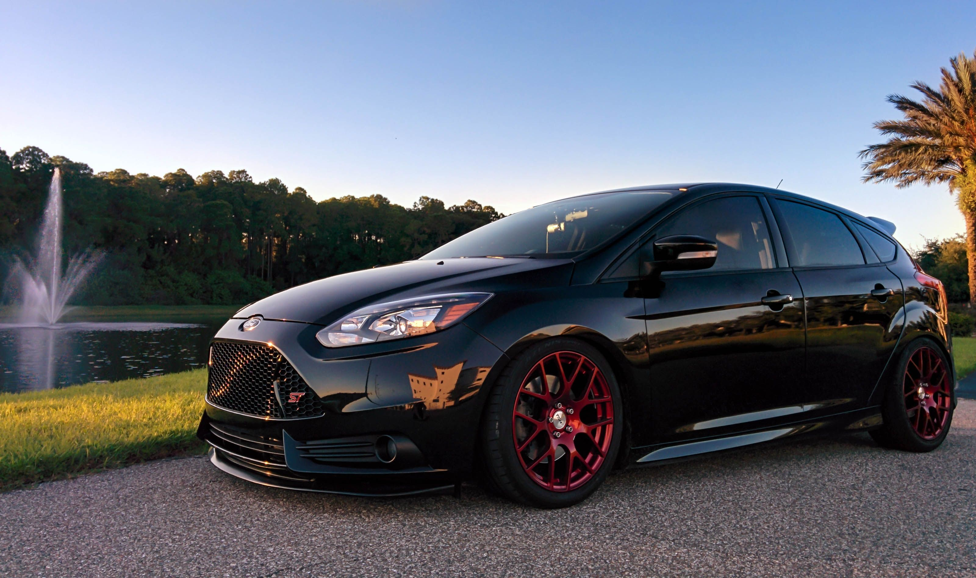 Focus St Lip Google Search Ford Focus Ford Focus St Hot Hatchback