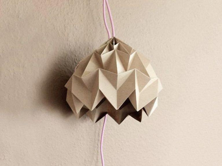 Lampada Origami Istruzioni : Selene illuminazione lampada da tavolo