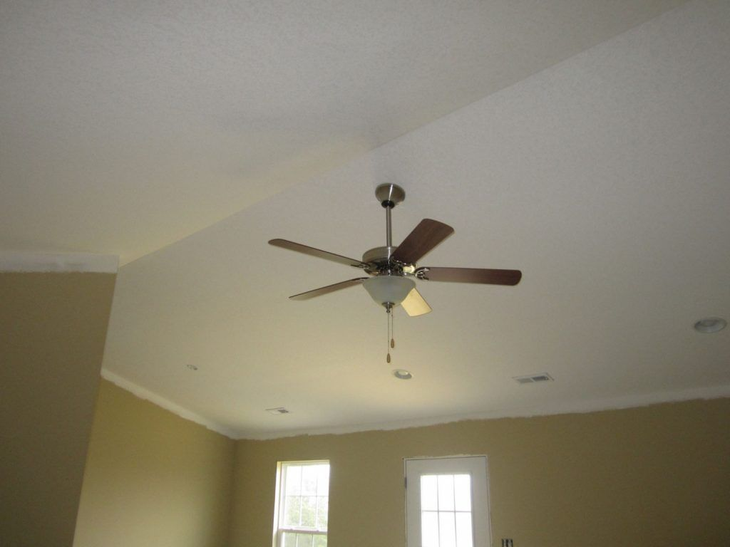Mounting A Ceiling Fan On A Vaulted Ceiling Pranksenders Vaulted