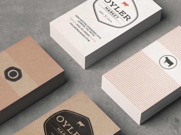 50 Of The Best Business Card Designs Business Card Design Cool