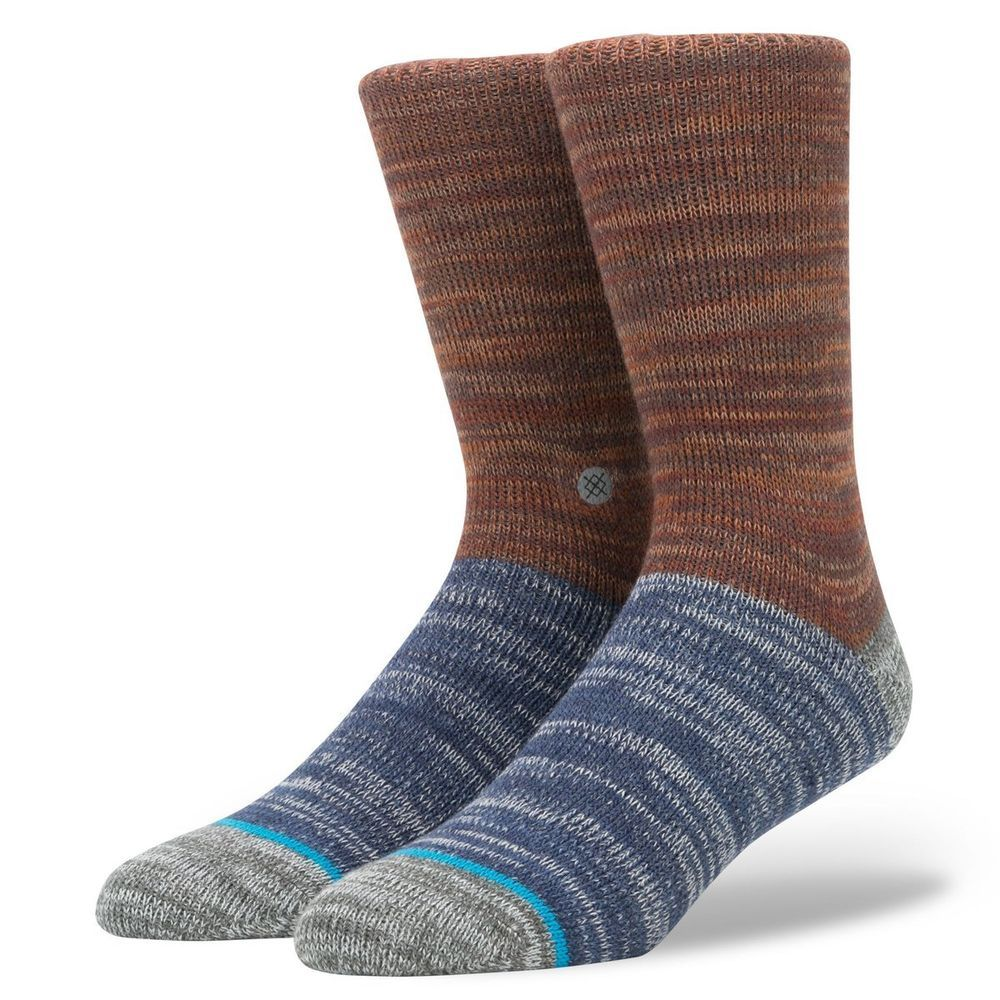 e41ba10fa5b50 STANCE Men's Arica Topstitch Collection Wool Knit Japan Socks Size L (9-12)  NEW #Stance #CrewHeight #arica #topstitch #japansocks #woolsocks