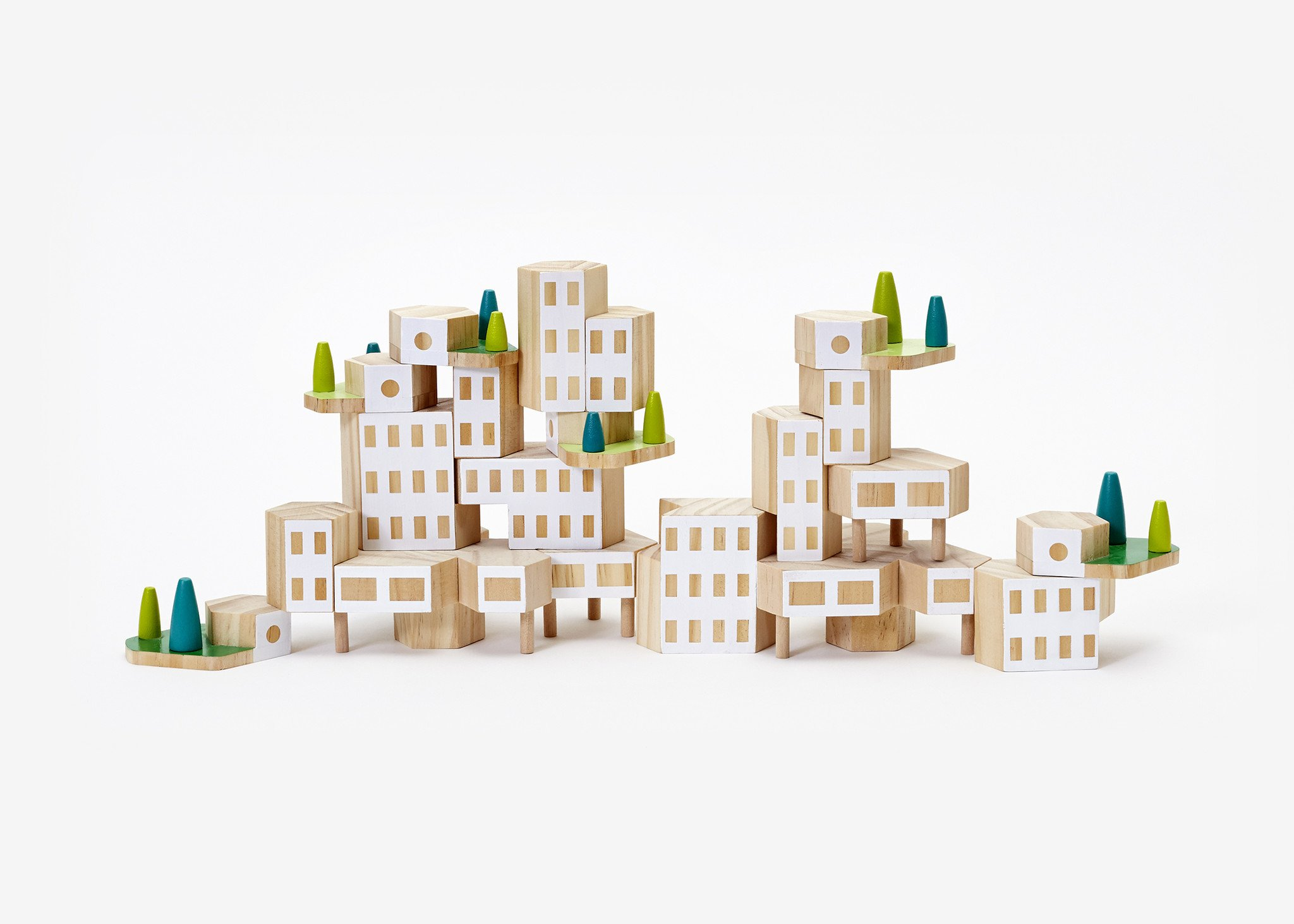 Blockitecture Garden City Mega Set Modern House Design