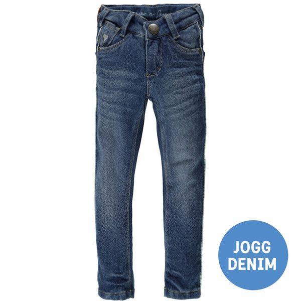 Mädchen Hose Jogg Denim GINA in blau