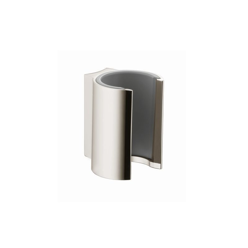 Axor 27515 Starck Handshower Holder Brushed Nickel Shower Accessories Hand Shower Holders