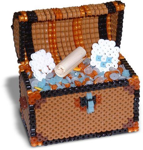 Treasure Chest - Perler beads project - Perler®