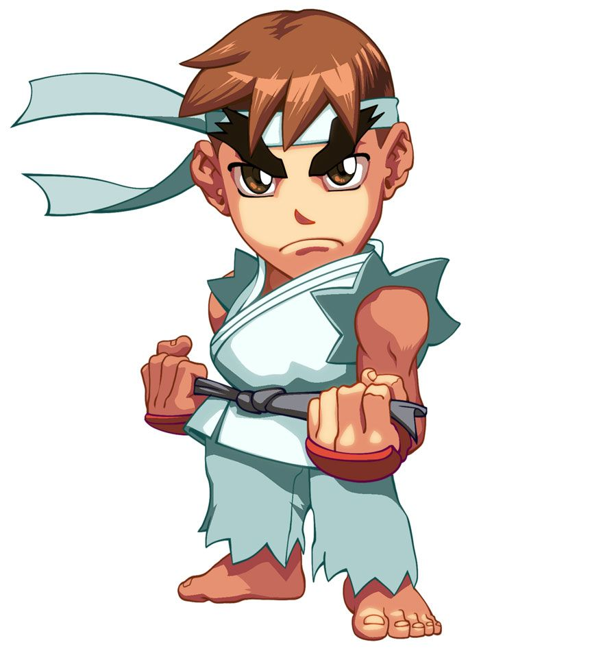 Ryu Characters Art Super Puzzle Fighter Ii Turbo Hd