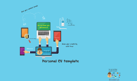 template for presenting your prezi resume or so called prezume various colorful and technological - Prezi Resume Template