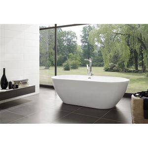 Aquaplus form vasca da bagno freestanding elegante elemento di arredo dalle proporzioni - Tappo vasca da bagno ...