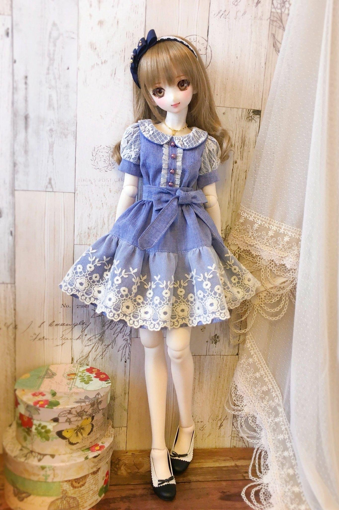 Pin By Merve Basgol On Dresses Patterns Anime Dolls Cute Dolls Licca Chan Doll