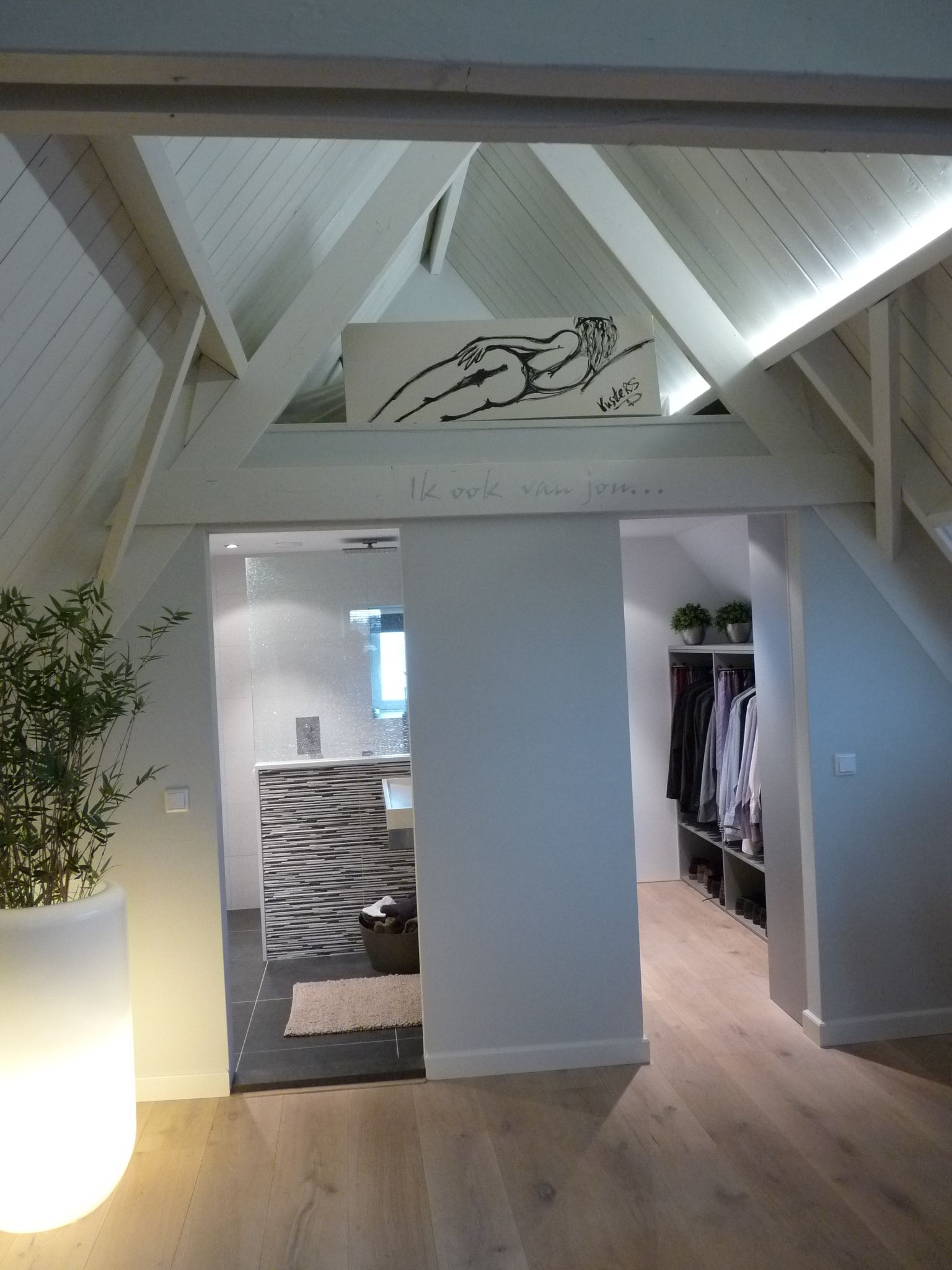 Van zolder naar luxe slaapverdieping | Attic | Pinterest - Zolder ...
