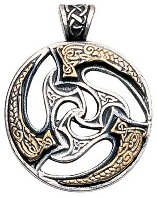 Celtic Sunwheel Pendant Necklace For Optimism One Of Mankinds