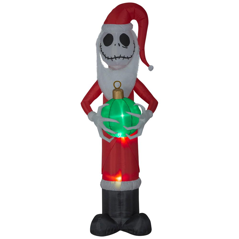 Airblown Holiday 8 Ft Pre Lit Inflatable Jack Skellington As