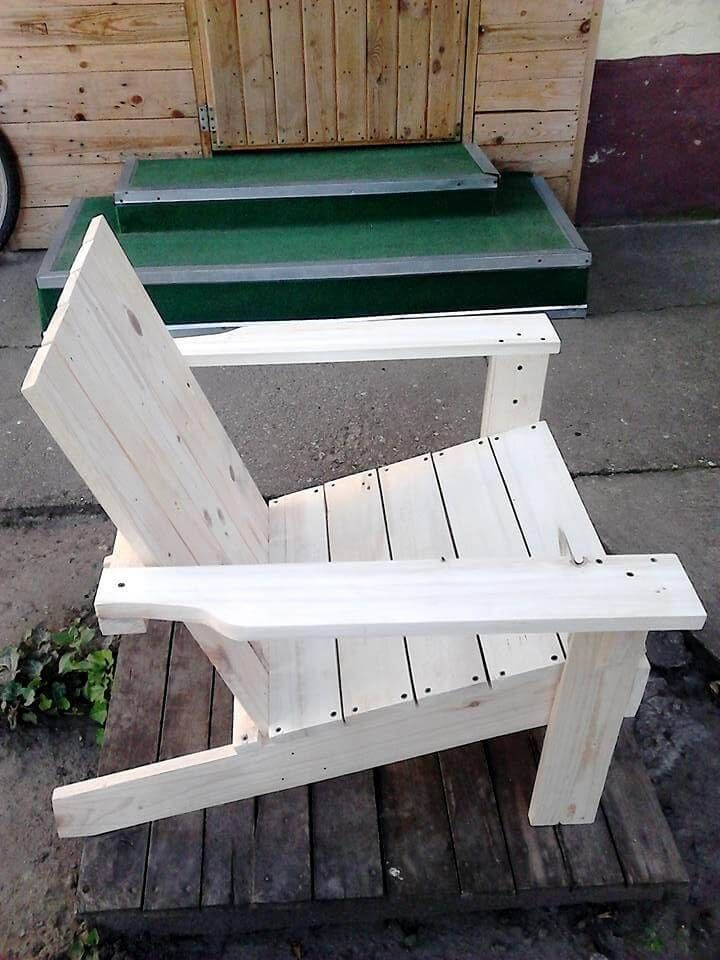 Admirable Adirondack Chair Made From Pallets Adirondack Chair Gmtry Best Dining Table And Chair Ideas Images Gmtryco