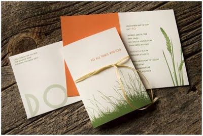 nature wedding invitations Posted by Bella Flora Creative at 217