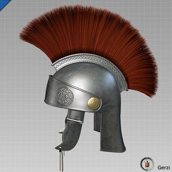 Age 12 ~ Roman History ~ Roman Helmet ~ title page
