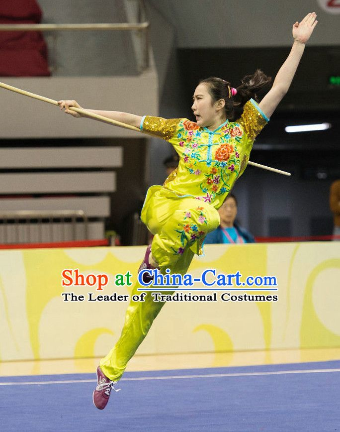 Top Wushu Competition Suits Southern Fist Tourament Qigong