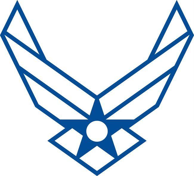 Air Force Symbol Outline Diy Ts Pinterest Air Force Nike Air