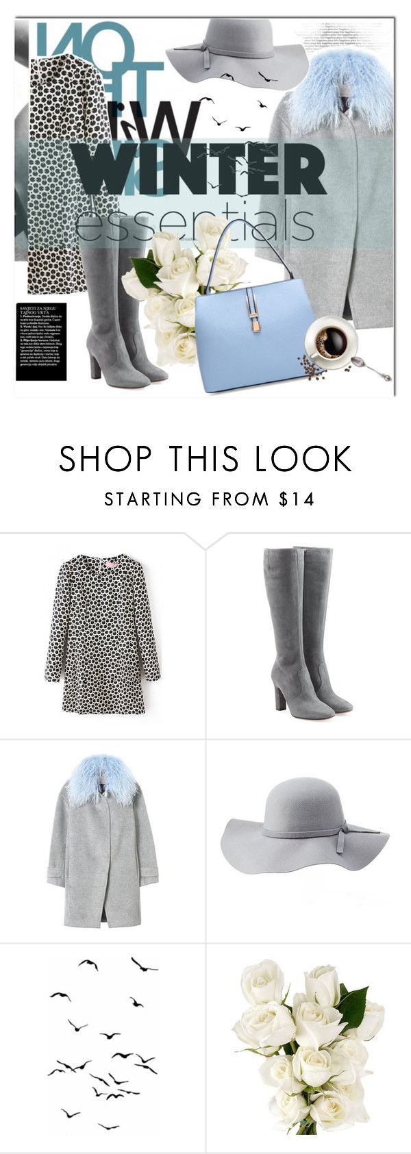 """Winter Essentials"" by bombaysapphire ❤ liked on Polyvore featuring moda, L'Autre Chose, Rebecca Taylor, Charlotte Russe ve Rebecca White"
