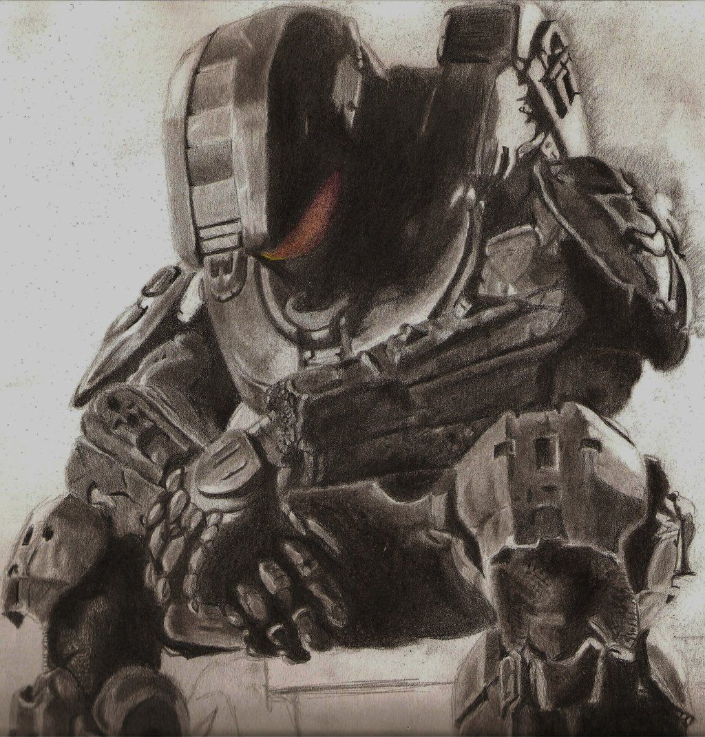 Master chief by on deviantart - Master chief in halo reach ...