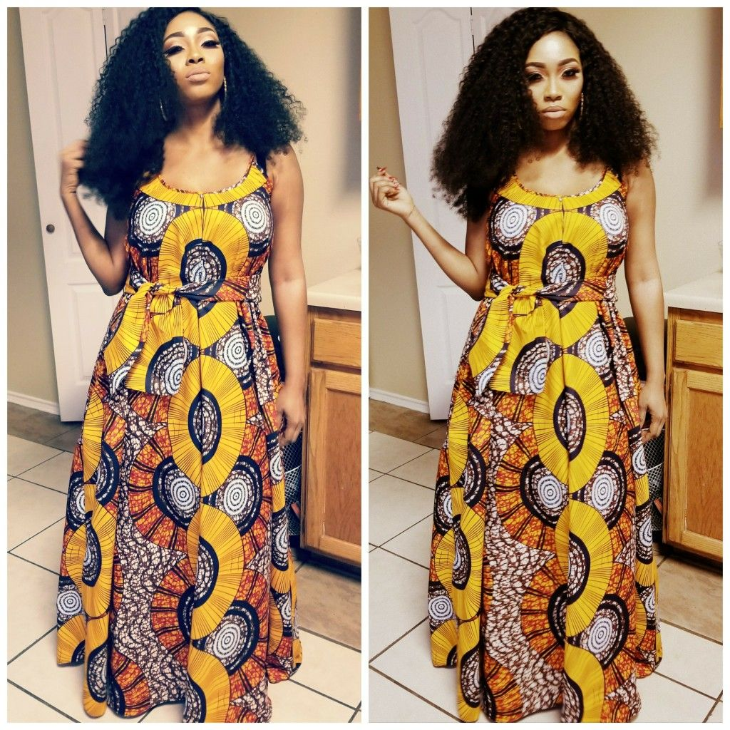 Fashion african dresses 2018
